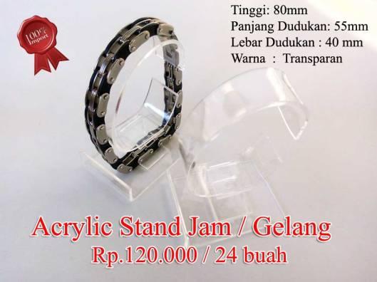 Acrylic Stand Jam / Gelang