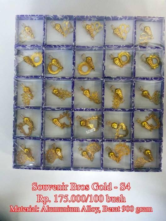 Souvenir Bros Gold - S4Rp.175.000/100 buah